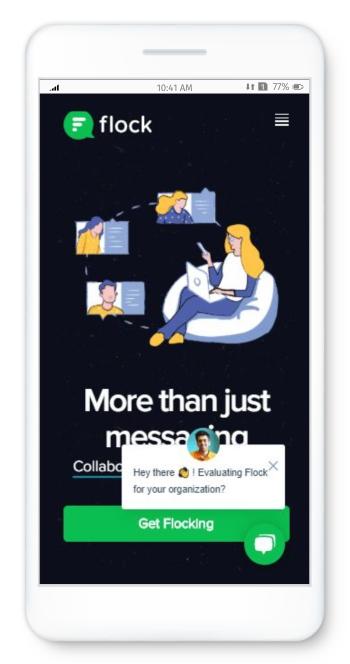 Flock an online collaboration app