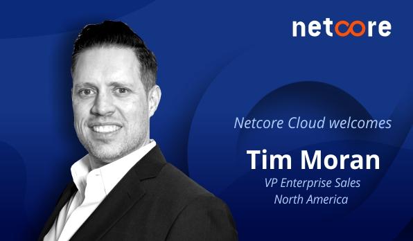 Netcore taps former Cheetah Digital exec Tim Moran to lead North American sales