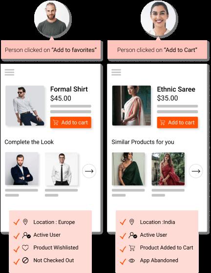 Segment your website customers