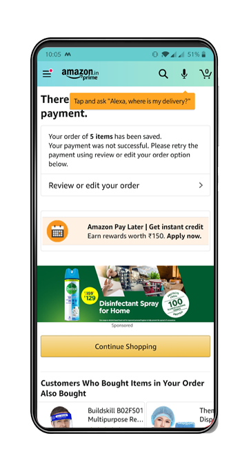 Amazon deploys nudges that would encourage users to use more and more of Alexa